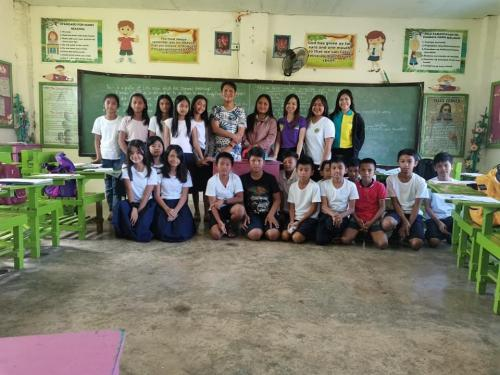 COVID-19 IEC to different ELEMENTARY SCHOOLS