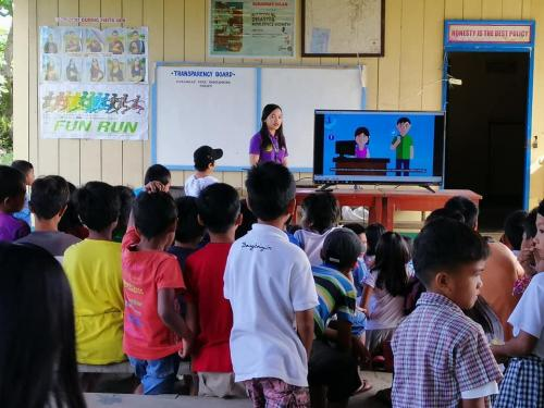 IEC on NCOV ARD, Nutrition, Coughing Etiquette, Proper Handwashing @ ISF MAIN CAMPUS and CULASI ELEMENTARY SCHOOL